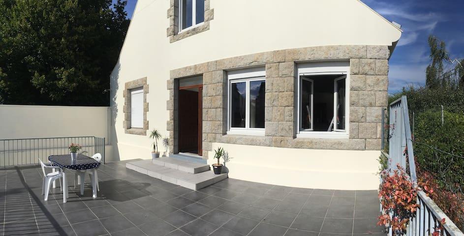 Appartement terrasse - Quimperlé centre