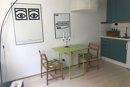 Studioapartment with everything you need - Tukholma - Huoneisto