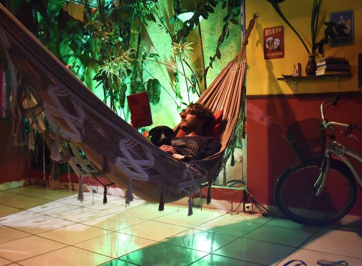 Cama em Leo's Clan Beach Hostel - 2