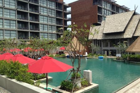Spacious 2 bed apartment with pool, close to beach - Mai Khao