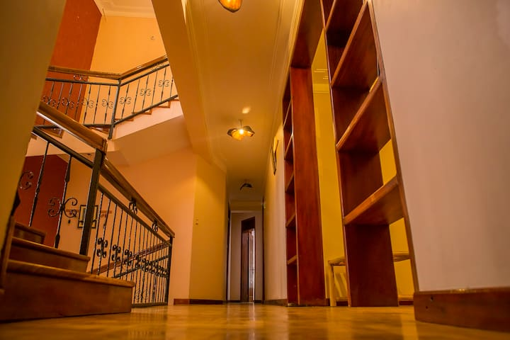 Spacious, safe and secure interior that guests use whilst accessing their rooms