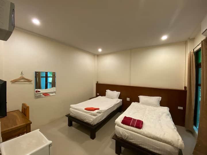 Jitra Resort Sukhothai, Superior Twin Beds Room