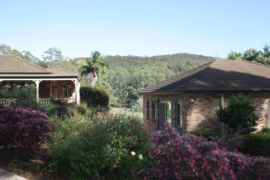 The Cottage is close to the main house but far enough away to maintain your privacy if required