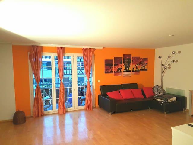 Gemütliche Wohnung inkl. Parkplatz - Neerach - Apartment
