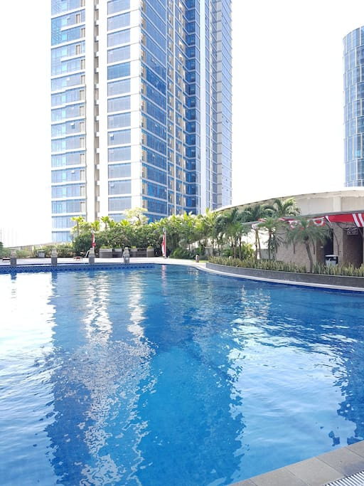 SWIMMING POOL at 1st floor