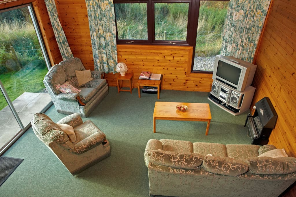 Lodge 1 Living Area