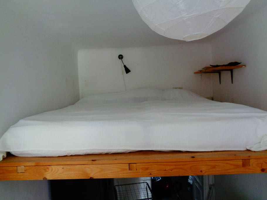 The loft bed