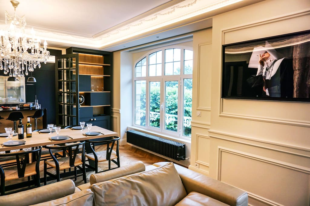 Le salon // the living room