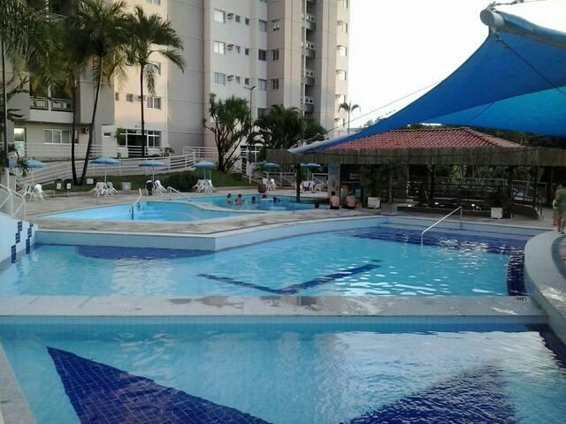 Apartamento com parque aquático - Caldas novas  - Apartment