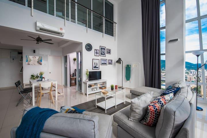 Modern High Rise Duplex Georgetown - Pulau Pinang - Byt