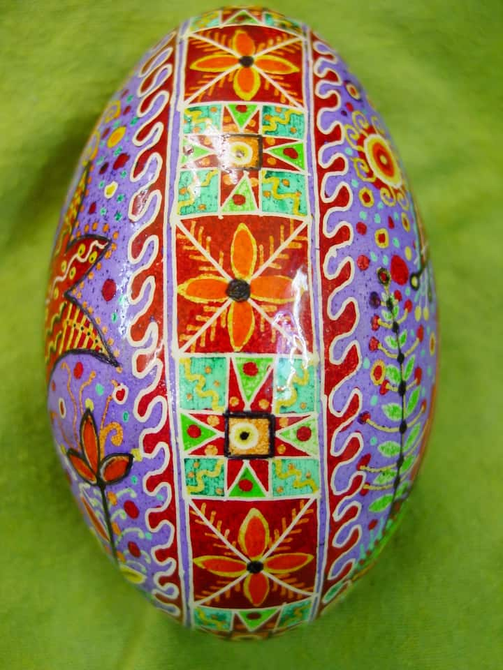 Finished Ukrainian Egg