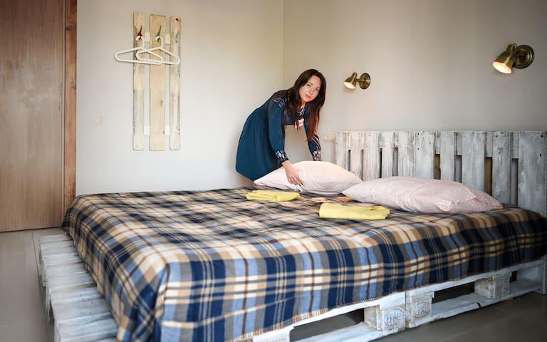 Двухместный номер с двухспальной кроватью - Ufa - Byt