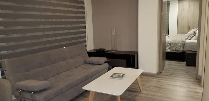 Moderno apartamento en el norte de btá exclusivo .