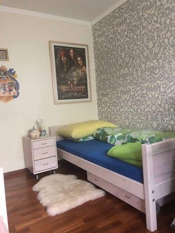 Zimmer für Touristen oder Student/in langfristig.