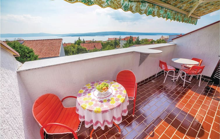 Holiday apartment with 1 bedroom on 25m² in Crikvenica
