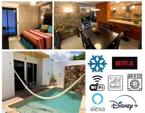 SMART HOME WITH POOL AND ALEXA ASSISTANT