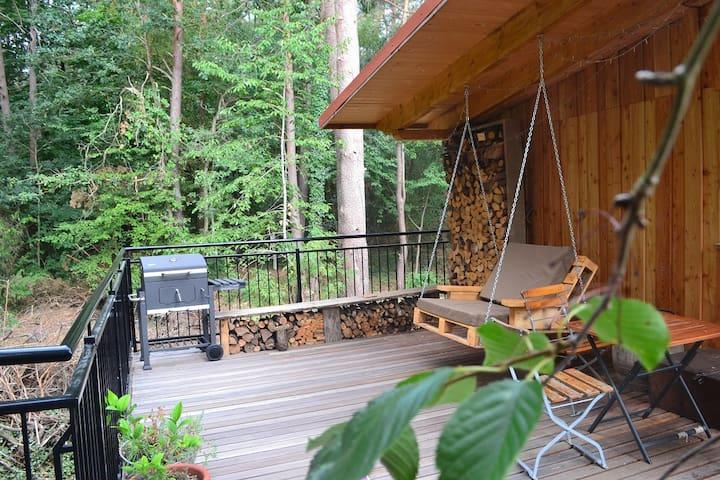 Ferienhaus Kediol Sauna, Badezuber, Dachterrasse