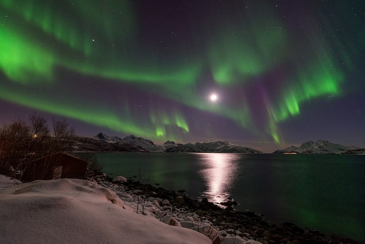 Northern lights at your doorstep