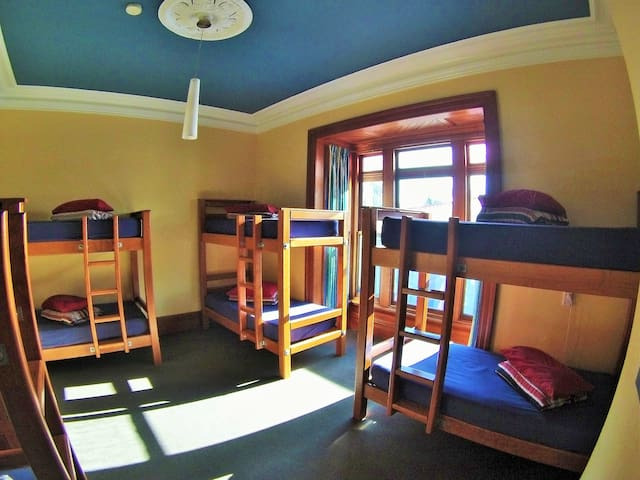 Comfortable Dorm Bed/Beds in spacious 8 bed dorm