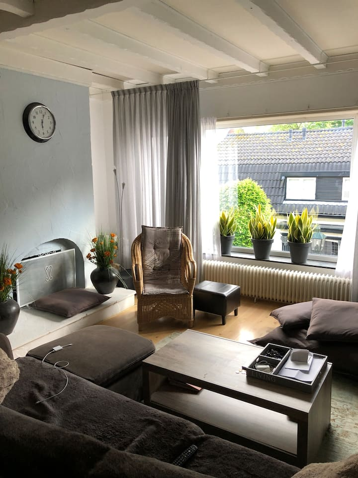 Big apartment 30 min from Amsterdam Central