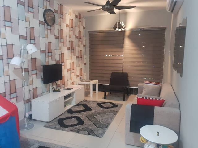 Cozy and Modern 3BR Shah Alam Apartment