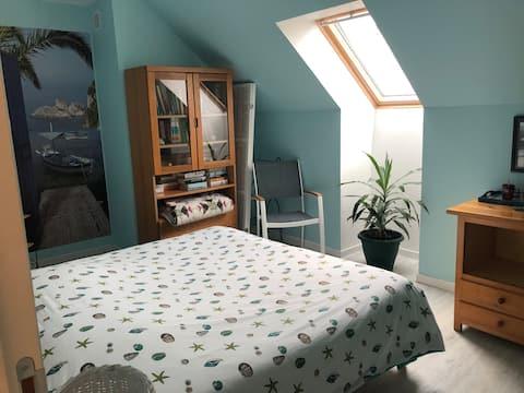 Rustige en onafhankelijke kamer