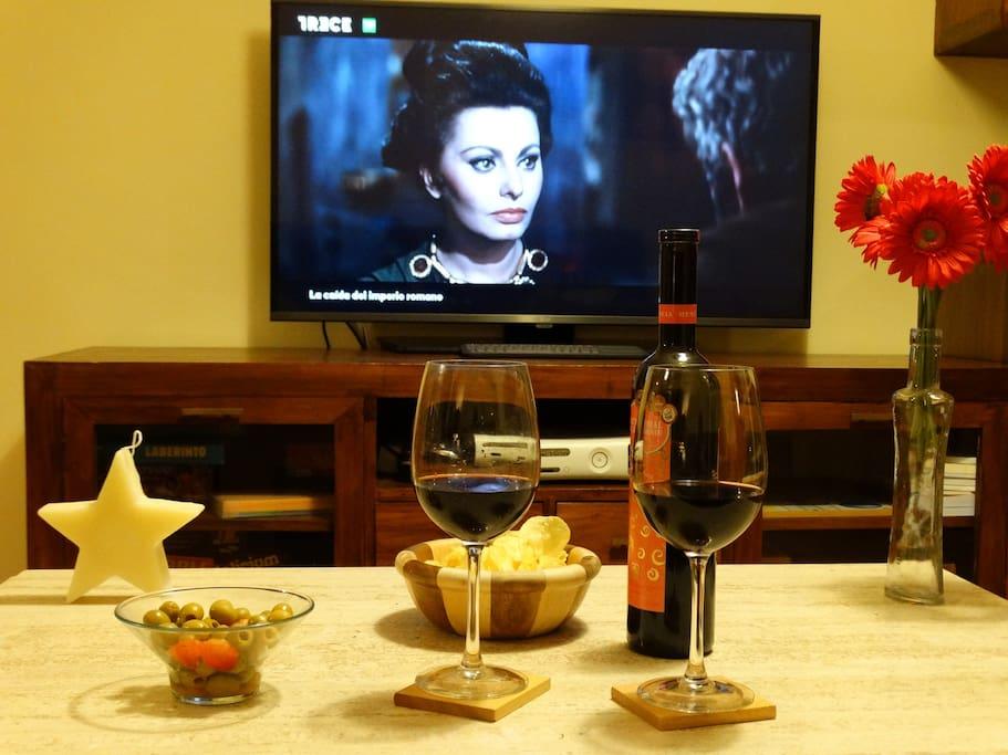 Una película y un vino?