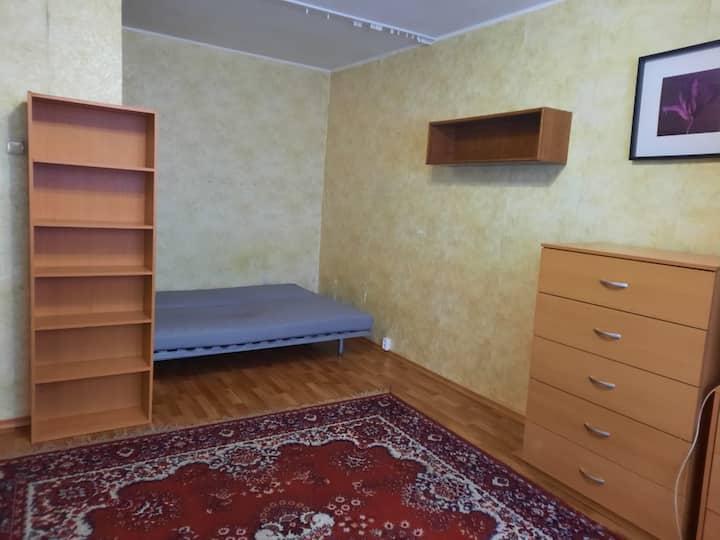 Однокомнатная квартира в спокойном  районе Москвы
