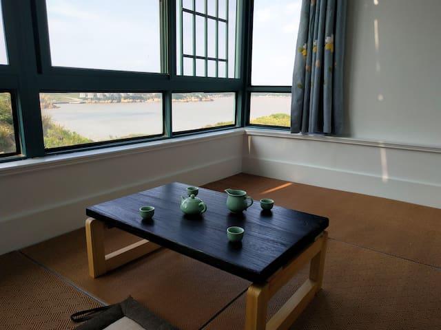 遇见秀山岛270°海景公寓  室室可见海景(免费沙滩  免费厨房)