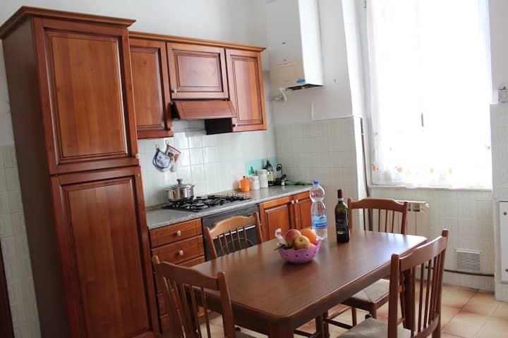Intero appartamento vicino alla stazione Principe