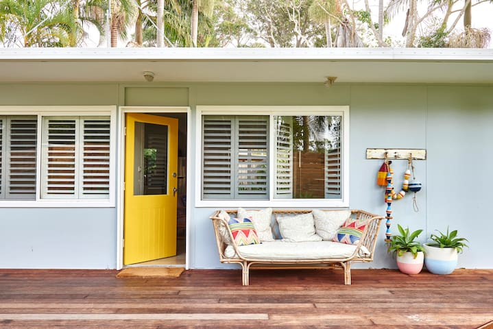 Palm Tree Cottage- Child Friendly - Byron Bay - Maison