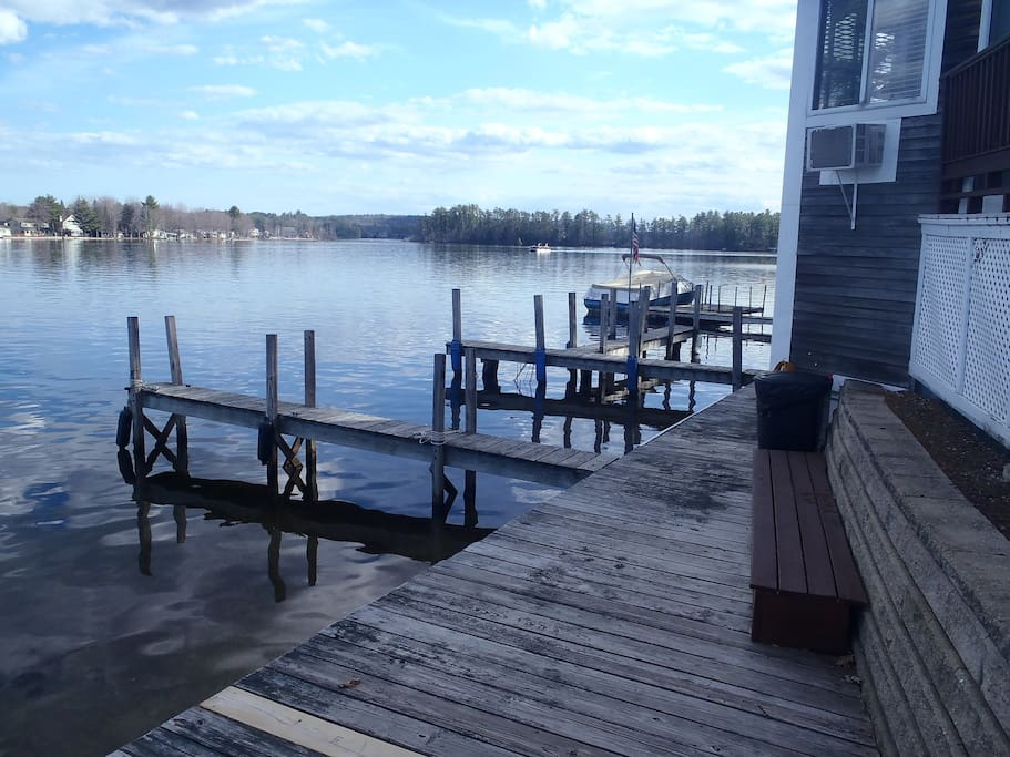 Docks available for an added fee