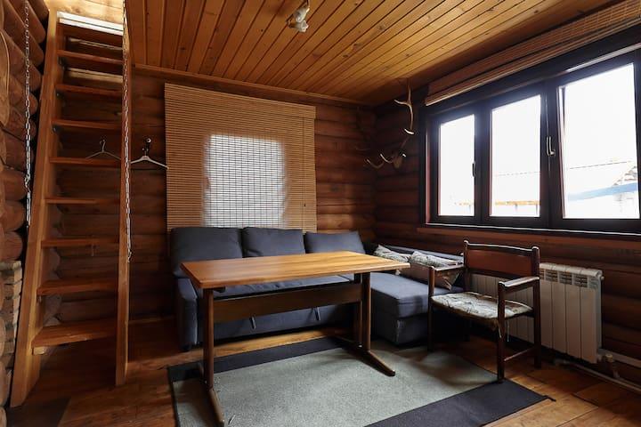 Wooden cab with sauna - Soçi - Ev