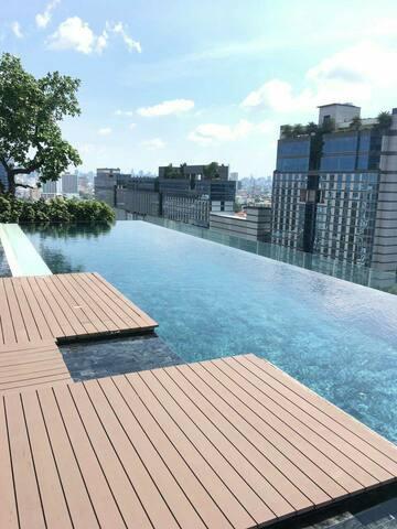 Lovly budget place for family Bangkok citynear MRT - Bangkok - Apartment