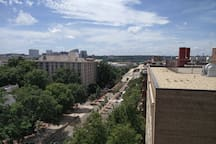 check out the rooftop