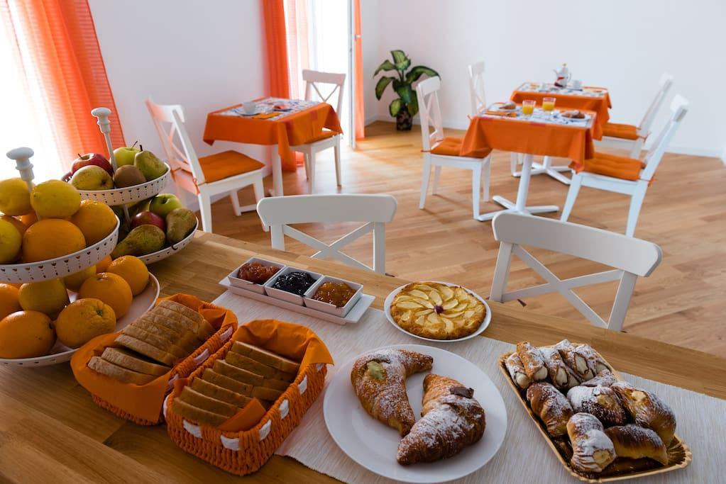 zona living comune -colazione