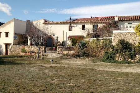 Casa rustica con vistas formidables - Les coves de vinroma - Rumah