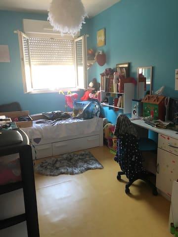 Petit nid douillet qu'une chambre