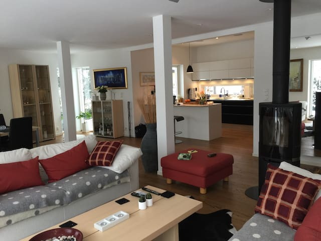 Large house, 5-stars! 3 bedrooms, terrace, parking - Oslo - House