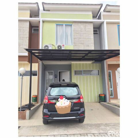2 floors house inside town house - South Tangerang - House