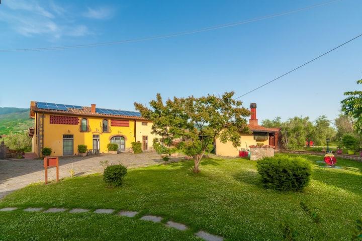 Scenic Mansion in Pian di Sco with Private Terrace