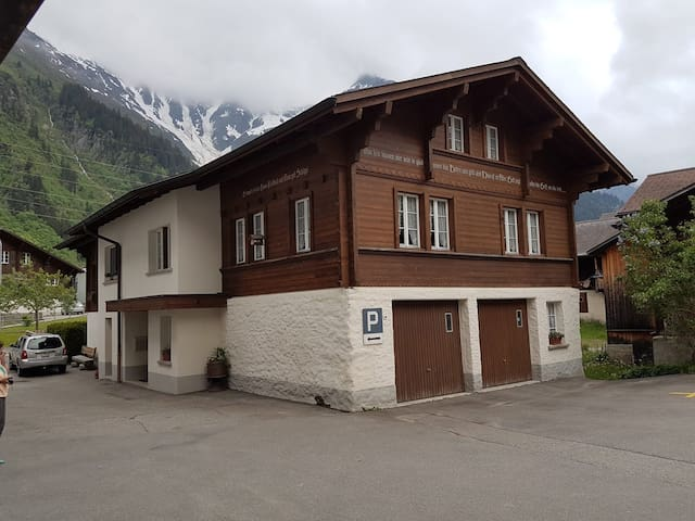 Swiss house in Guttannen