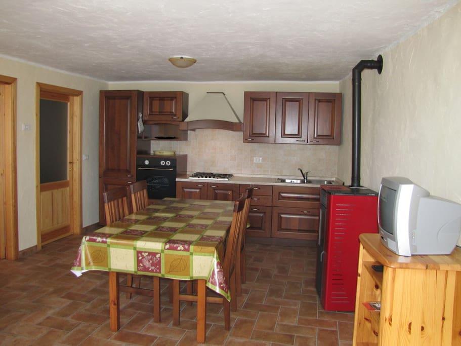 cucina -kitchen  living