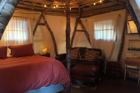Mick's Yurt at Hoh Rainforest Resort