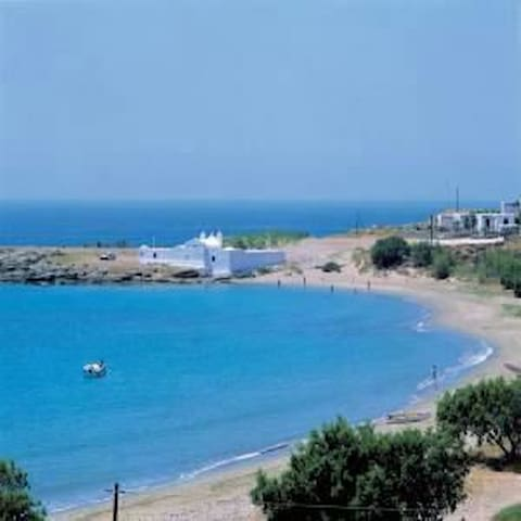 Studio 50m from the beach - Tinos