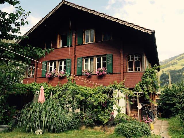 Haus mit schönem Garten - Frutigen - Hus