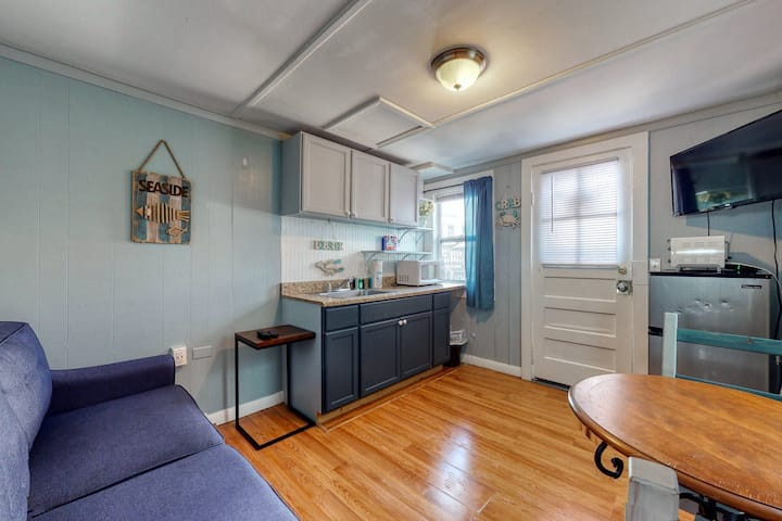 Cute, Dog-Friendly Condo w/ Partial AC, WiFi, & Kitchenette - Walk to the Beach