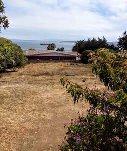 Cabaña rústica en Quintero con Vista al Mar