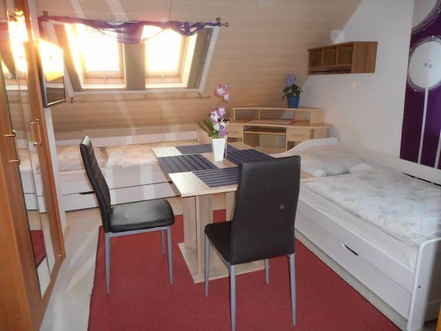 Appartement am Altmühlsee ca. 500 m für 2 Personen - Gunzenhausen - Apartamento