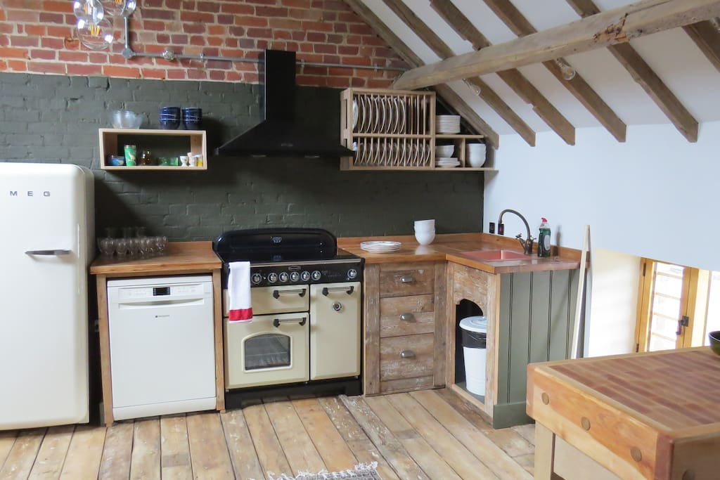All kitchens are equipped with very high spec appliances  to make cooking a feast